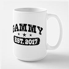 Gammy Est. 2017 Large Mug