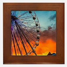 Del Mar Fair Framed Tile