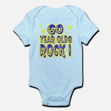 60 Year Olds Rock ! Infant Bodysuit