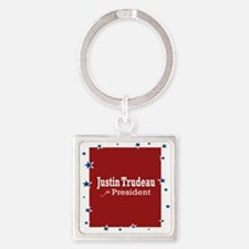 Trudeau For President Keychains