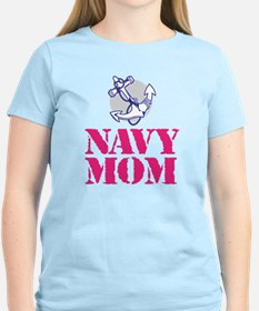 Funny Navy mom T-Shirt