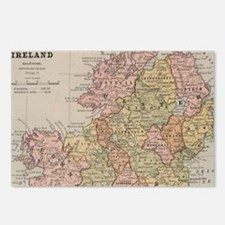 Cute Irish history Postcards (Package of 8)