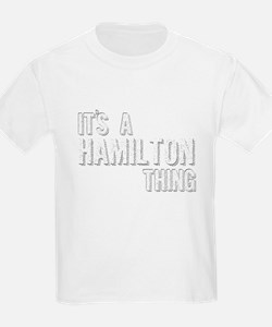 Its A Hamilton Thing T-Shirt