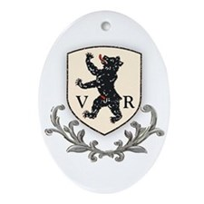 Canton Appenzell VR Oval Ornament