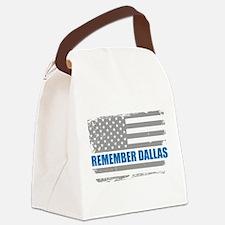 Remember Dallas Canvas Lunch Bag
