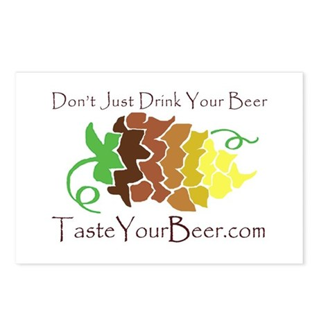 Taste Your Beer! Postcards (Package of 8)