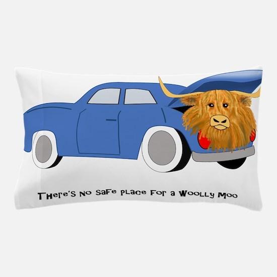 No Safe Place_Car Trunk Pillow Case