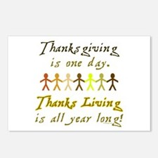 Thanks Living Postcards (Package of 8)