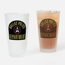 Cool Sheriff thin blue line Drinking Glass