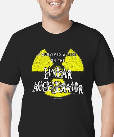 10 x 10 - Linear Accelerator (dark) T-Shirt