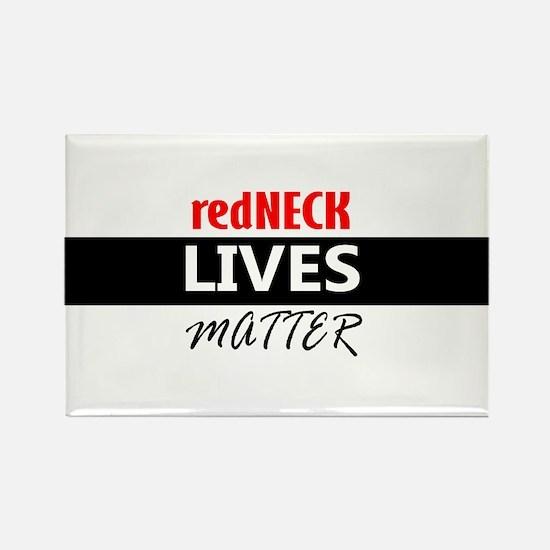 redNECK lives Matter Magnets
