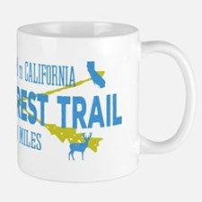 Vintage Style Pacific Crest Trail Hiking Embl Mugs
