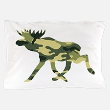 Moose Camouflage Pillow Case