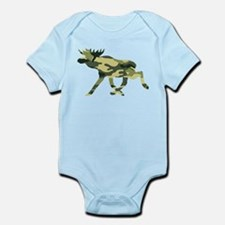 Moose Camouflage Body Suit