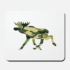 Moose Camouflage Mousepad