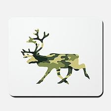 Reindeer Caribou Camouflage Mousepad