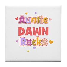 Dawn Tile Coaster