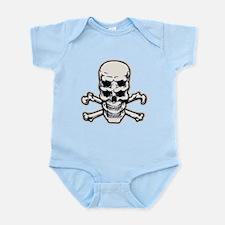 Double Vision Skull Infant Bodysuit