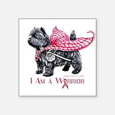 Carin Cancer Warrior Sticker