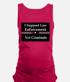 Cute Military police officers Maternity Tank Top