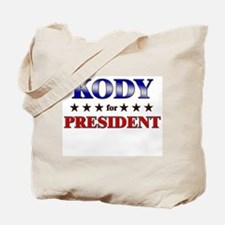 KODY for president Tote Bag