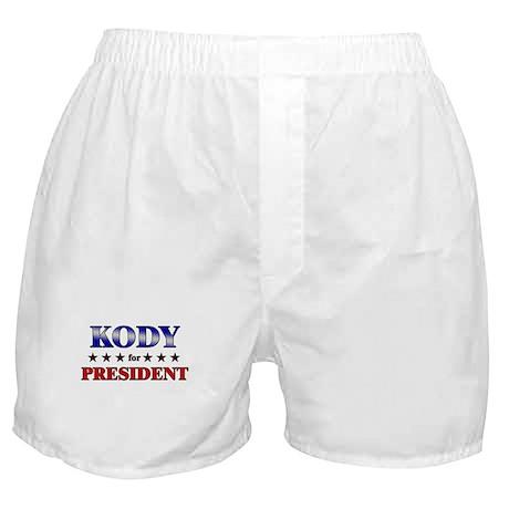 KODY for president Boxer Shorts