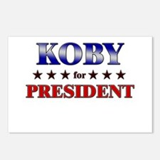 KOBY for president Postcards (Package of 8)