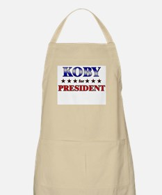 KOBY for president BBQ Apron