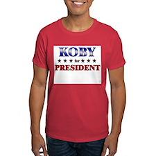 KOBY for president T-Shirt