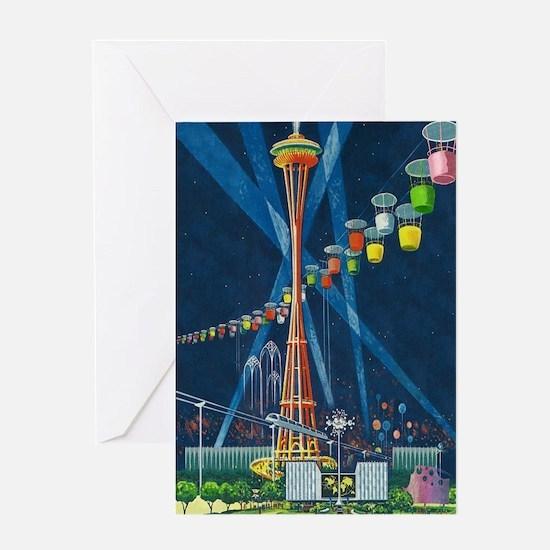 Seattle, Washington - Space Needle World Fair Gree