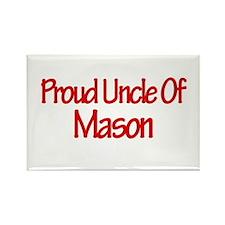 Proud Uncle of Mason Rectangle Magnet