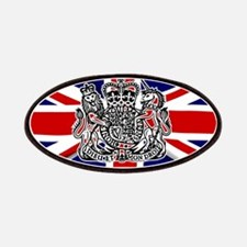 Union Jack With UK Seal Patch