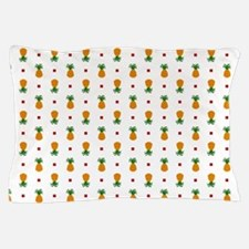 Pixel Art Pineapple Pattern Pillow Case
