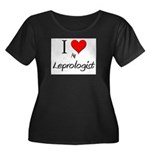 I Love My Leprologist Women's Plus Size Scoop Neck