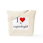 I Love My Leprologist Tote Bag