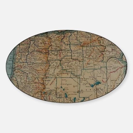 Unique State of oregon Sticker (Oval)