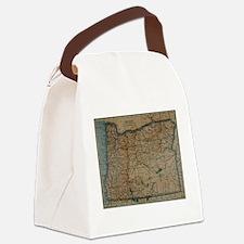 Unique Oregon love Canvas Lunch Bag