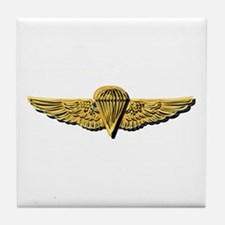 Navy - Parachutist Badge - No Txt Tile Coaster
