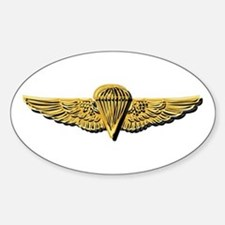 Navy - Parachutist Badge - No Txt Sticker (oval)