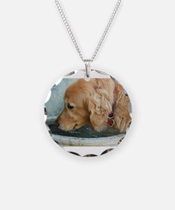 Nala the golden drinking Necklace