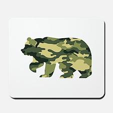 Bear Camouflage Mousepad