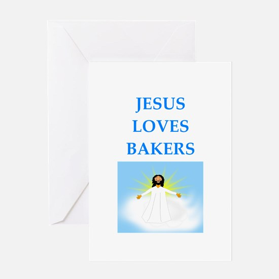 baker Greeting Cards