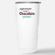 Chocolate Espresso Stainless Steel Travel Mug