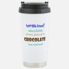 Chocolate Boss Stainless Steel Travel Mug