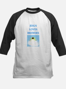 jesus loves Baseball Jersey