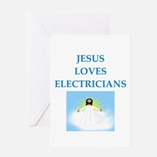 electrician Greeting Cards