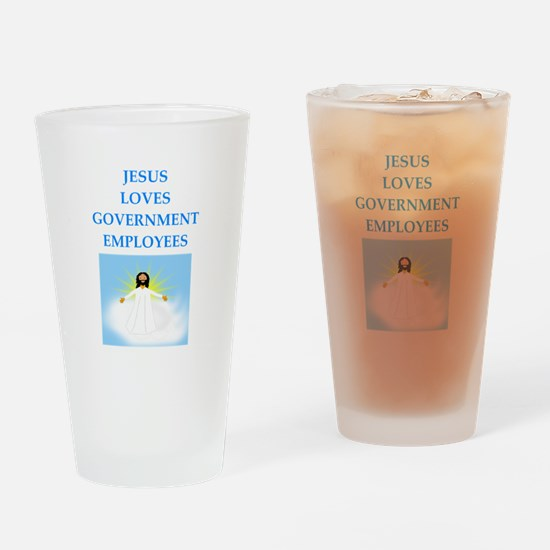 government Drinking Glass