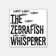 Zebrafish Whisperer Sticker