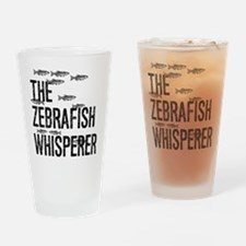 Zebrafish Whisperer Drinking Glass