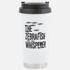 Zebrafish Whisperer Stainless Steel Travel Mug